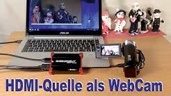 Jede HDMI Quelle als Webcam – HIZ282
