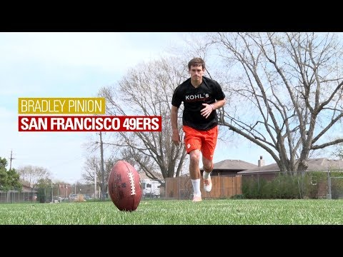 Kickoff Technique with NFL Punter Bradley Pinion
