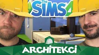 🔨 Skośny dom 🔨The Sims 4: Architekci #47 [1/5] w/ Undecided