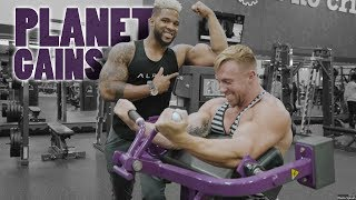 Planet Fitness Gym Trolling With Nick Bare & Zack Kravits