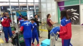 カンボジア代表としてリオデジャネイロ五輪の男子マラソンに出場する、...