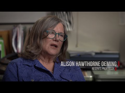 2017 Regents' Professor Alison Hawthorne Deming