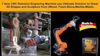 Kuka 7 Axis CNC Robotic Engraving Machine (Made in Germany ) - Dubai