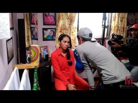 Elvina Mohamad On-Set 'Jojie Gigil' #2