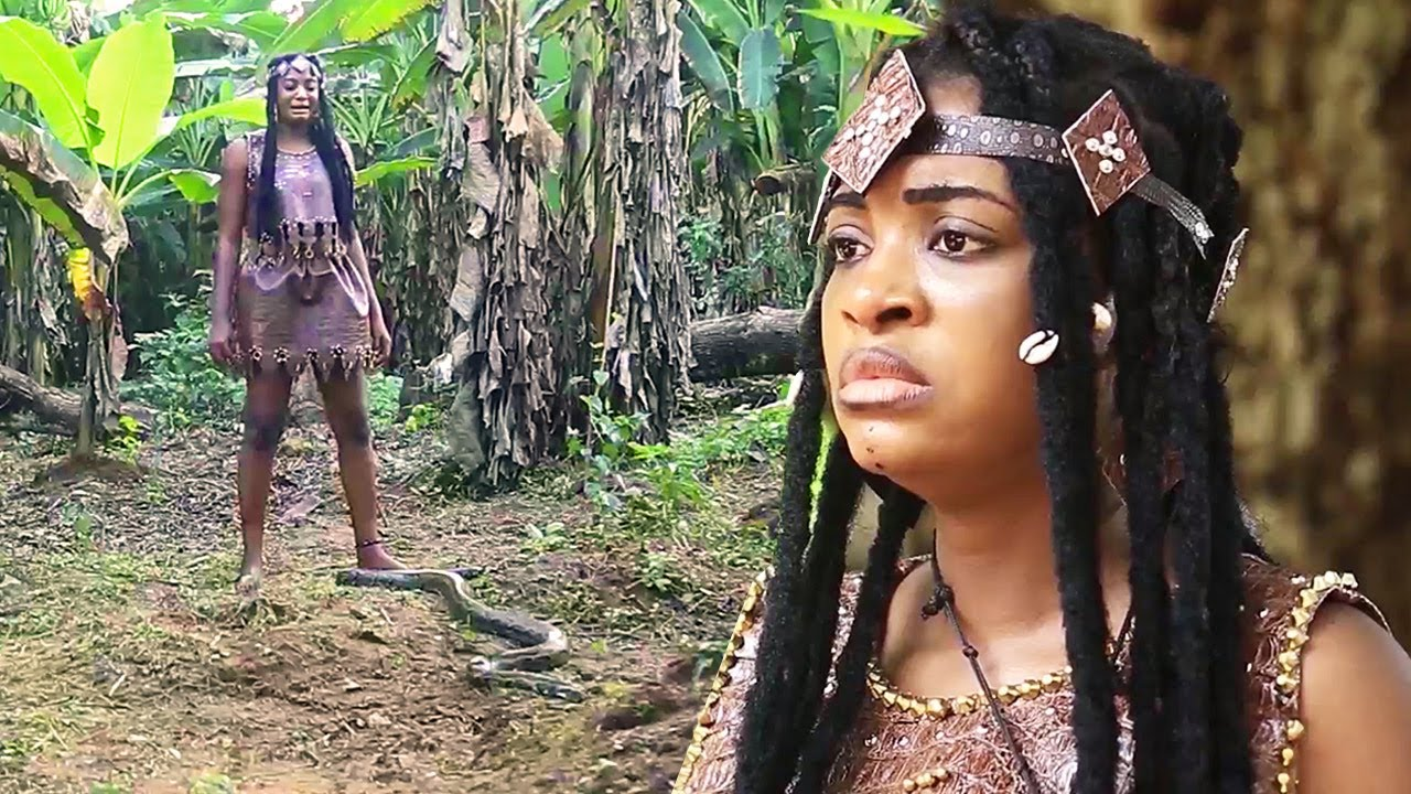 Download How A Rejected & Banished Maiden Got Magical Powers From The Python Snake Goddess 2 - AFRICAN MOVIES