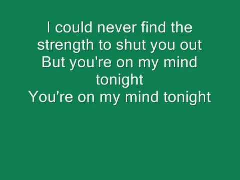 Plug In Stereo- You're On My Mind w/ lyrics on screen
