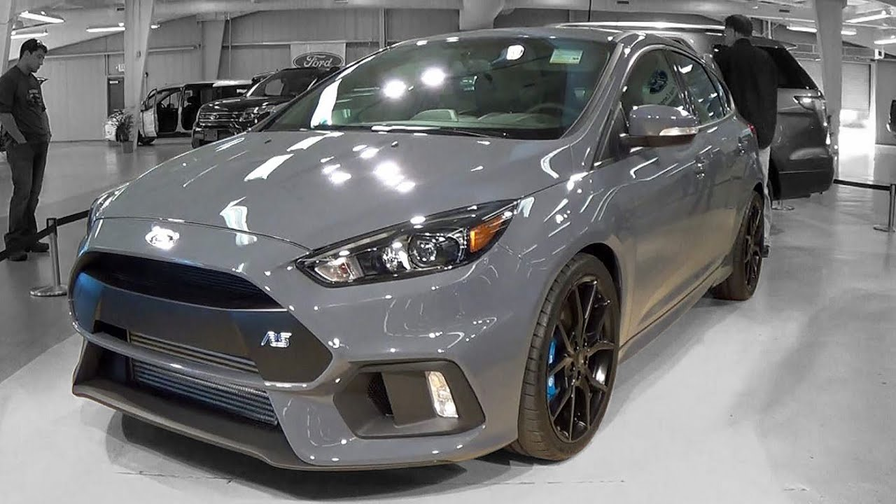 2016 Ford Focus Rs Walkaround Youtube