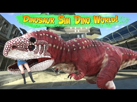 Dinosaur Simulator: Dino World 1