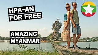 MYANMAR ON A BUDGET // HPA-AN FOR FREE // MYANMAR TRAVEL VLOG