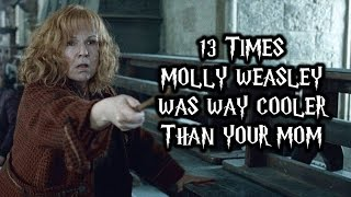 13 Times Molly Weasley Was Way Cooler Than Your Mom