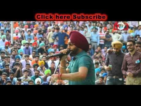 Ammy Virk Live Performance Part 1 || Punjabi University Patiala || Latest Punjabi Songs