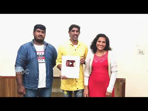 """Thank you So Much Guys   For Your Love and Support   """"PREKSHAKA DEVULLAKI"""" 🙏🙏  SILVER PLAY BUTTON."""