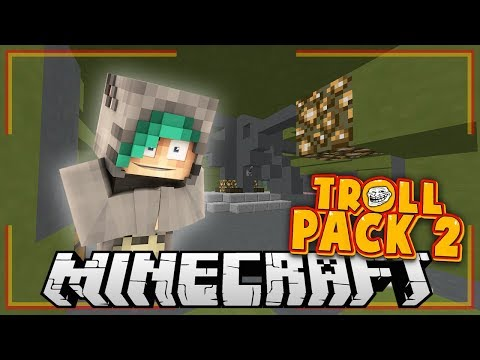 MY HOUSE IS GONE?! - Minecraft TrollPack SMP - Ep.5