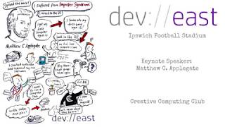 dev://east 2018: A Choice to Computer presented by Matthew C Applegate