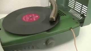 Vintage Record Player 1957 The Webcor Midge