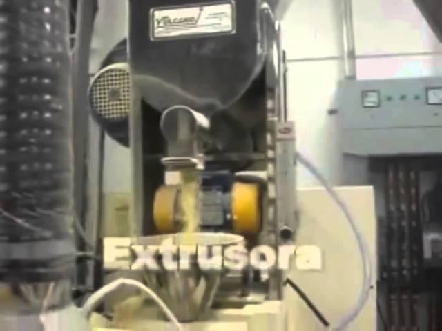 Línea de extrusión -  Vulcano Tecnología Aplicada EIRL.