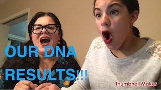 OUR ANCESTRY DNA RESULTS!!