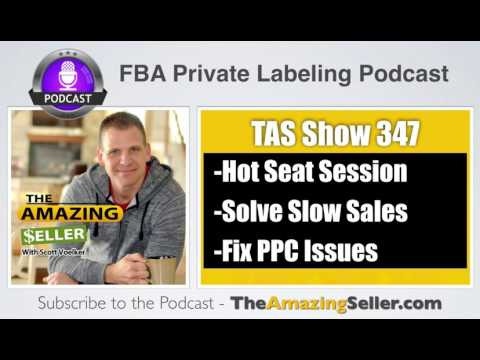 Just Launched Product & Slow Sales – PPC is Not Working (Hot Seat) – TAS 347 - The Amazing Seller
