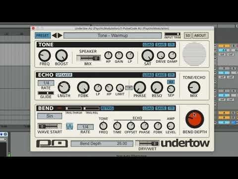 Undertow - Beat Bending Multi FX - A quick tweakthrough