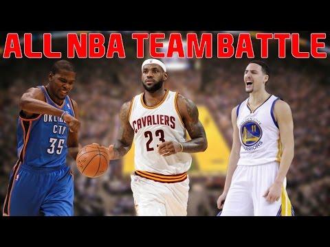 NBA 2K16 MyLeague - The All NBA Team Battle!