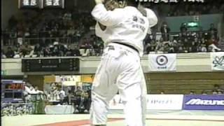 01全日本柔道選抜体重別100超級 篠原VS猿渡
