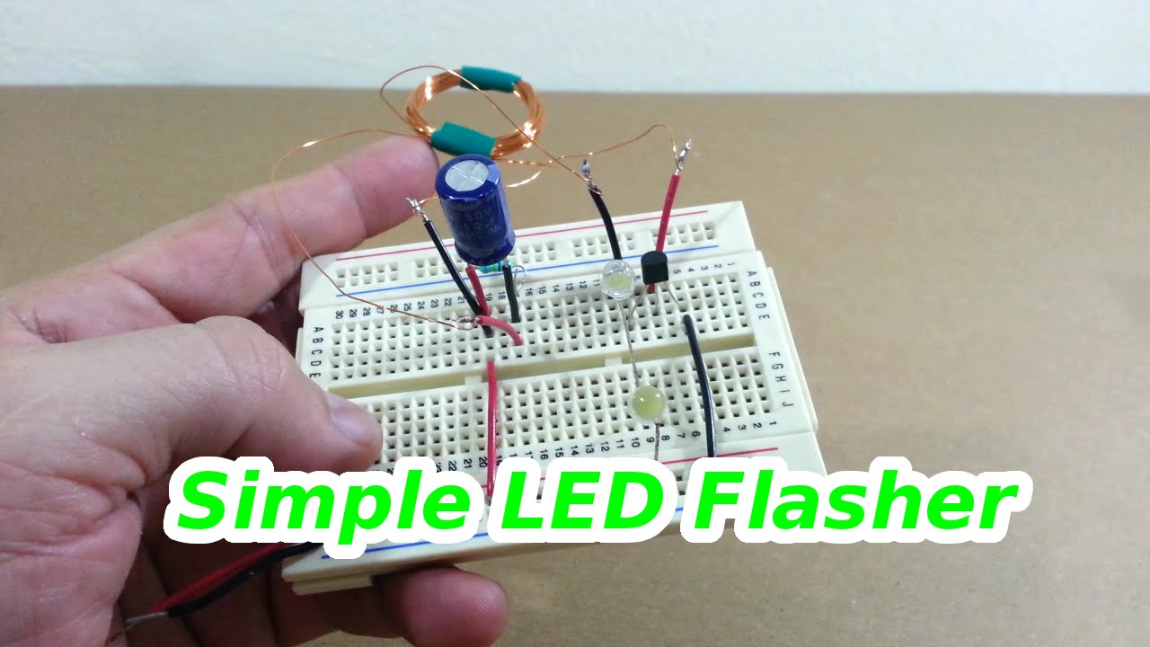 low voltage led flasher circuit youtube rh youtube com Simple LED Flasher Circuit low voltage led flasher circuit