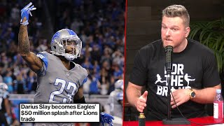Pat McAfee's Thoughts On Darius Slay Being Traded From The Lions