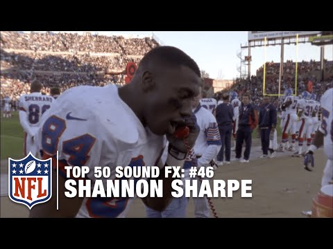 Top 50 Sound FX | #46: Shannon Sharpe Calls Mr. President | NFL