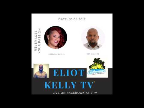 Interviewed by Eliot Kelly TV on Island Run Bahamas | #DonBWill
