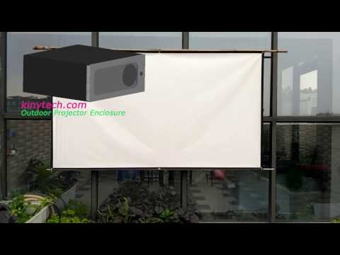 compare outdoor tv enclosure & outdoor  projector enclosure