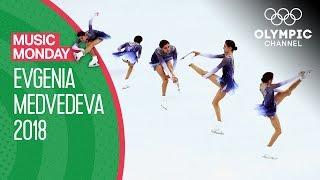 Evgenia Medvedeva's short program at PyeongChang 2018 | Music Monday