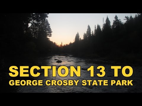 Superior Hiking Trail : Section 13 to George Crosby