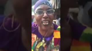 Kwanzaa in Elmina Ghana. Umoja