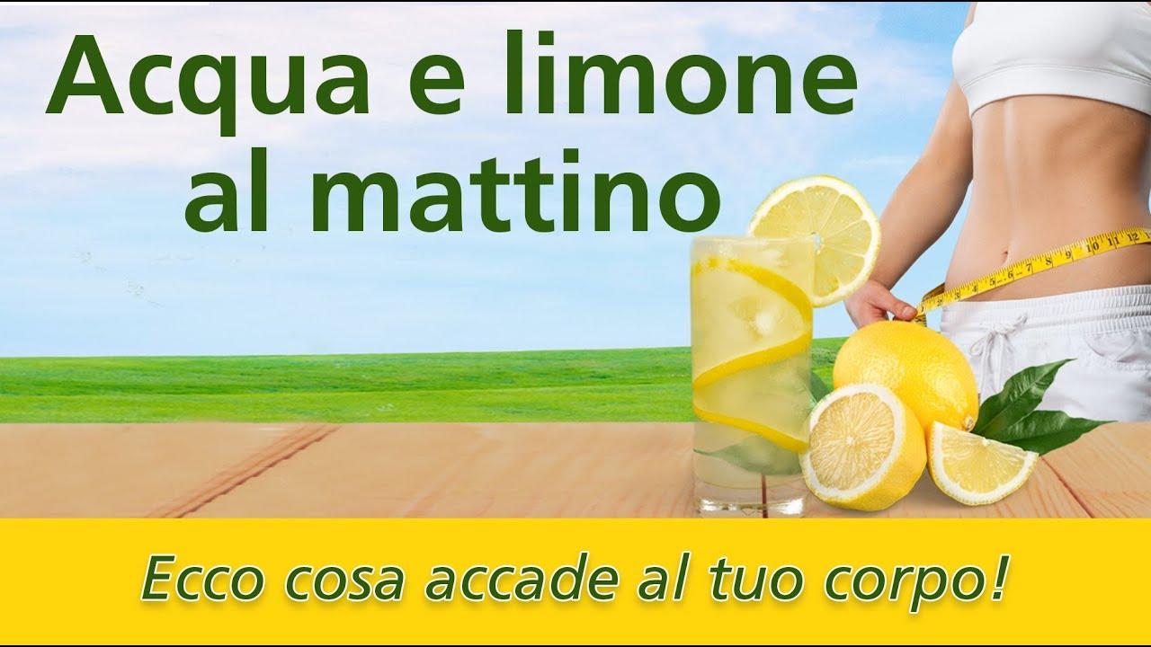 Dimagrire e restare in salute con acqua e limone