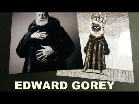 """EDWARD GOREY: """"La niña desdichada"""" y """"Los pequeños macabros""""."""