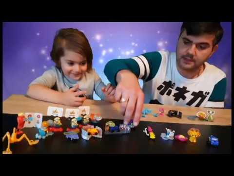 Eggs with toys Kinder Surprise открываем игрушки из разных коллекций part2