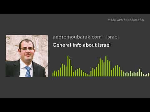 General Info About Israel