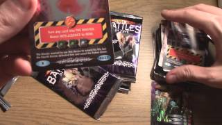 Tediously Opening 15 Packets of Dr. Who Battles In Time Ultimate Monsters Trading Cards