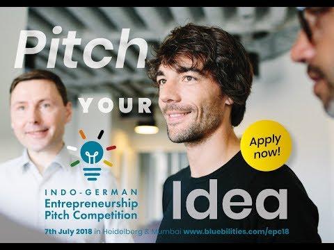 Indo-German Startup Pitch Heidelberg Mumbai