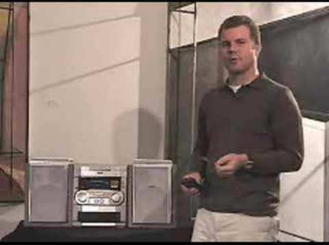 Philips FWi-1000 Internet radio demonstration