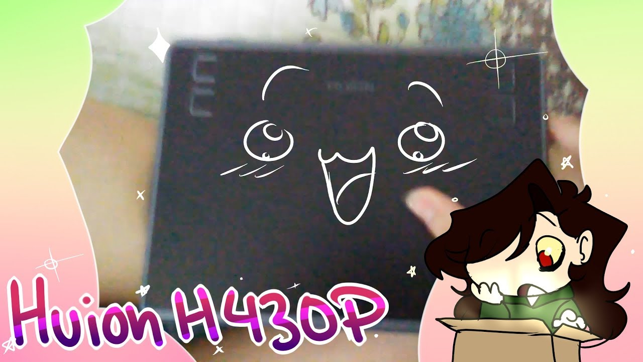 Unboxing Huion H430P Tablet!