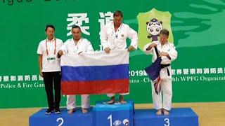 Успешное выступление российской сборной на Всемирных играх полицейских и пожарных в Китае.