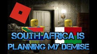 ÁFRICA DO SUL ESTÁ PLANEJANDO MEU FALECIMENTO | Ascensão de Roblox das Nações.