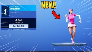 FORTNITE SWITCHSTEP EMOTE BASS BOOSTED 1 HEURE
