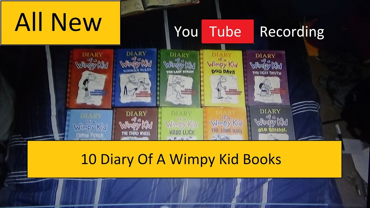 10 diary of a wimpy kid books youtube 10 diary of a wimpy kid books youtube recording hd solutioingenieria Gallery