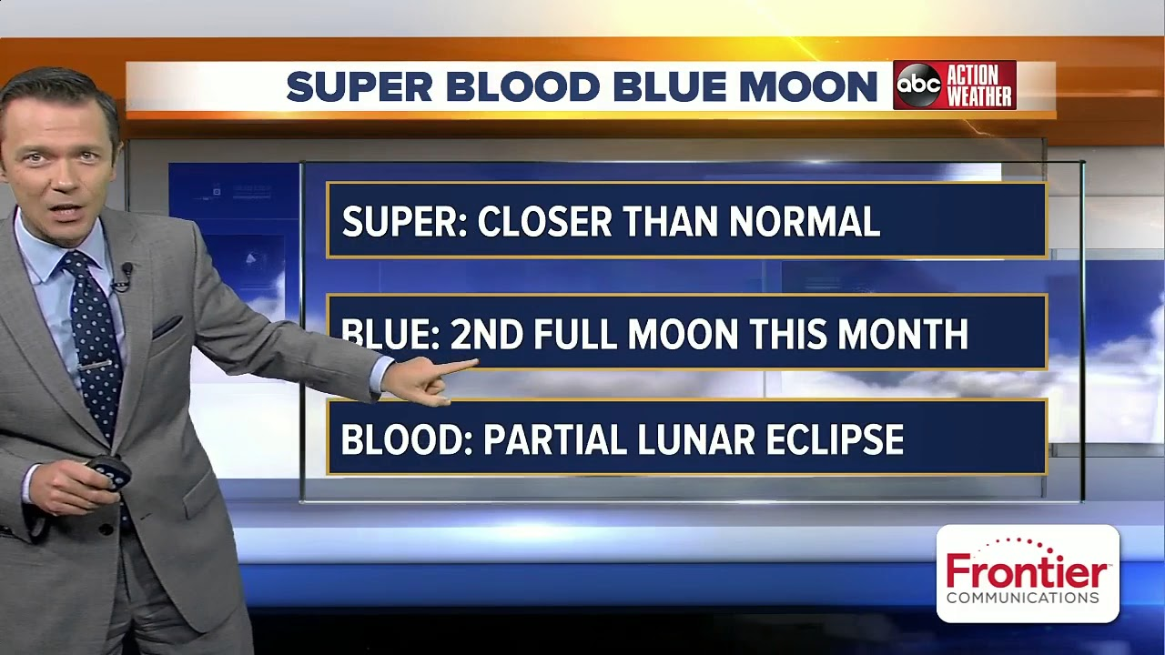 What to expect for Wednesday's Super Blue Blood Moon in Tampa Bay