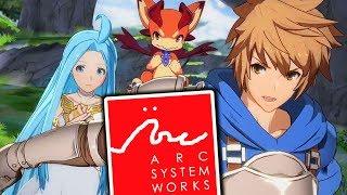 "Arc System Works Announces New Game ""granblue Fantasy Versus"""
