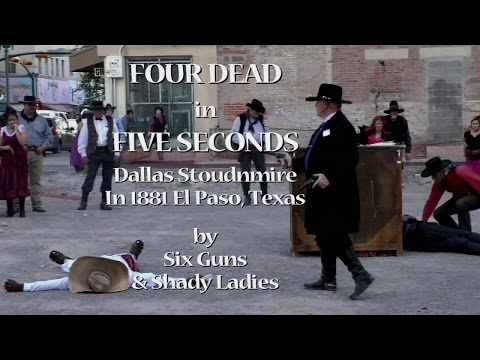 Four Dead in Five Seconds Reenacted on 4 14 16 in El Paso, Texas