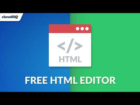 Free HTML Editor: Feature-Rich