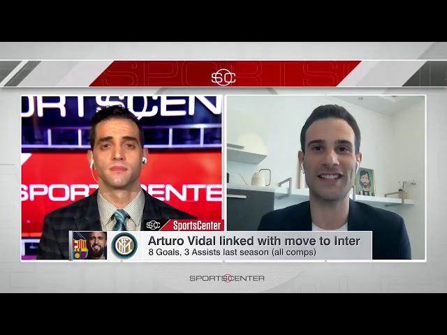 Adriano on ESPN SportsCenter (15/05/20)